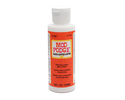 Mod Podge (gloss-lustre) Glue & Sealer 4 fl. oz.