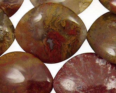 Agua Nueva Agate Horse Eye 30x25mm