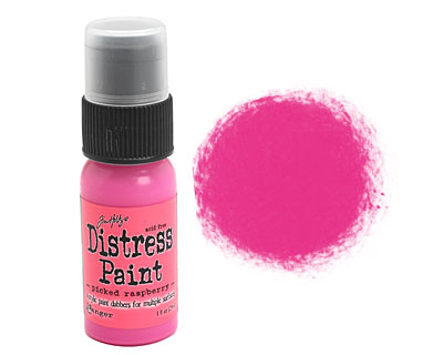 Tim Holtz Picked Raspberry Distress Paint Dabber 29ml