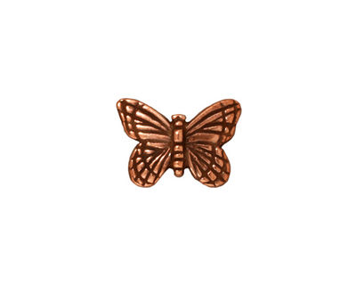 TierraCast Antique Copper (plated) Monarch Bead 11x15mm