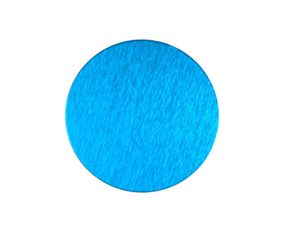 Lillypilly Turquoise Anodized Aluminum Disc 25mm, 24 gauge