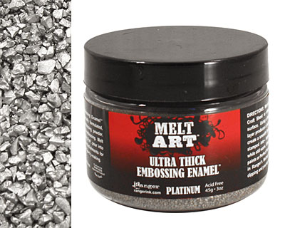 Melt Art Platinum Ultra Thick Embossing Enamel 3 oz.