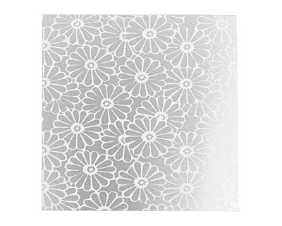 Lillypilly Silver Daisy Anodized Aluminum Sheet 3