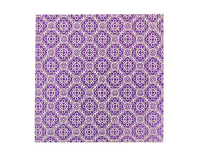 Lillypilly Purple Doily Anodized Aluminum Sheet 3