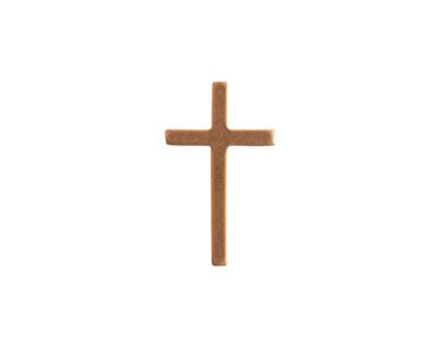 Nunn Design Brass Large Cross Embellishment 11x19mm