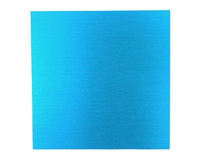 Lillypilly Turquoise Anodized Aluminum Sheet 3