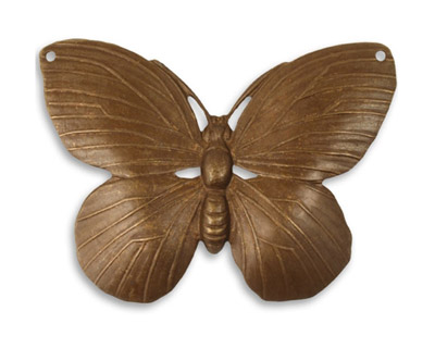 Vintaj Natural Brass Lunarfly 50.5x40mm
