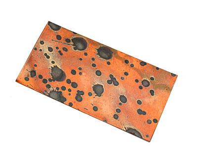 Lillypilly Sunburst Patina Copper Sheet 3