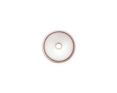 C-Koop Enameled Metal White Chip 3-4x12-13mm