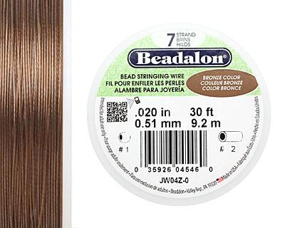 Beadalon Bronze .020