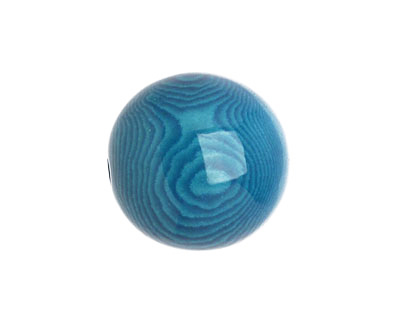 Tagua Nut Turquoise Round 20mm