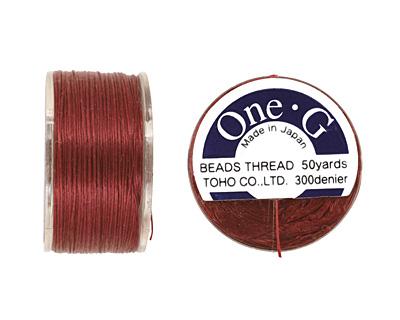 TOHO One-G Burgundy Thread
