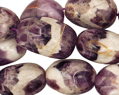 Dogtooth Amethyst Tumbled Nugget 22-28x15-20mm