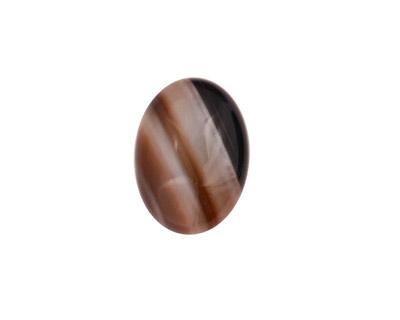 Black Sardonyx (light) Oval Cabochon 18x25mm