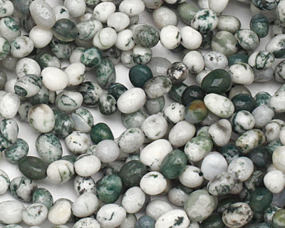 Tree Agate Tumbled Nugget 5-8x6-7mm