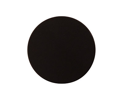 Lillypilly Black Anodized Aluminum Disc 25mm, 22 gauge