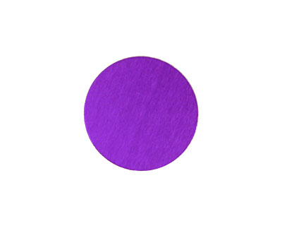 Lillypilly Purple Anodized Aluminum Disc 19mm, 24 gauge
