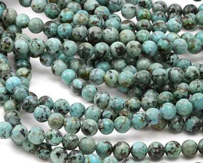 African Turquoise (AAA) Round 6mm