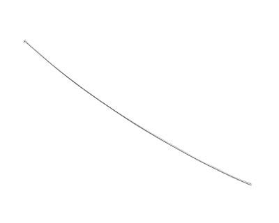 """Sterling Silver Headpin 3"""", 26 gauge"""
