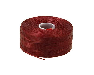 C-Lon Burgundy Size D Thread