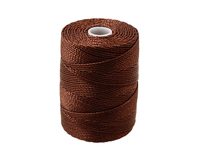 C-Lon Brown (.5mm) Bead Cord