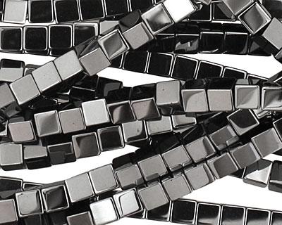 Hematite Cube 4mm
