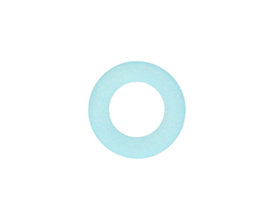 Turquoise Bay Recycled Glass Ring 16mm