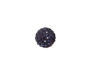 Montana Blue Pave Round 10mm (1.5mm hole)
