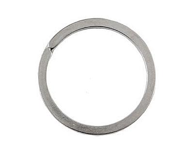 Nunn Design Antique Silver (plated) Key Ring 33mm