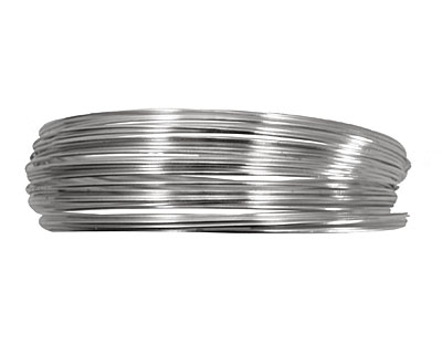 Memory Wire Silver (plated) Large Bracelet .5 oz.