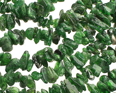 Chrome Diopside Chips 1-6x10-19mm