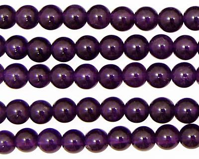 Amethyst (AA) Round 6mm