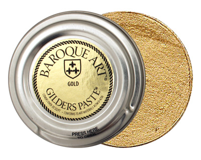 Gold Baroque Art Gilders Paste 30ml