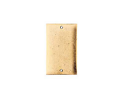 Nunn Design Antique Gold (plated) Flat Large Rectangle Tag Link 30x18mm