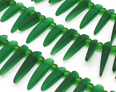 Shamrock Recycled Glass Tusk 4-6x22-30mm