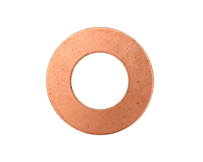 Copper Ring Blank 25mm