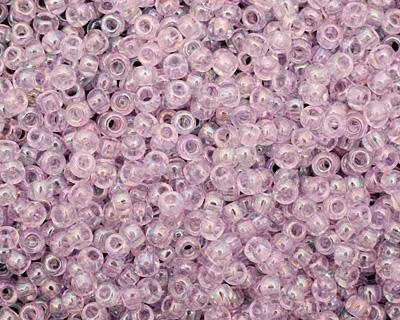 TOHO Dyed Rainbow Lavender Mist Round 8/0 Seed Bead