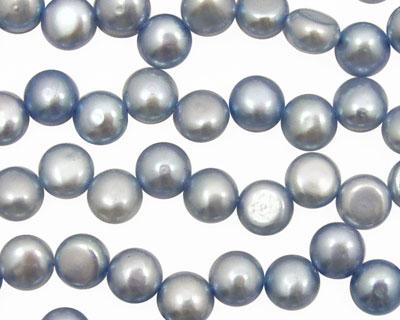 Sky Blue Dancing Button 6-6.5mm