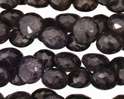 Iolite Faceted Onion 8-9mm