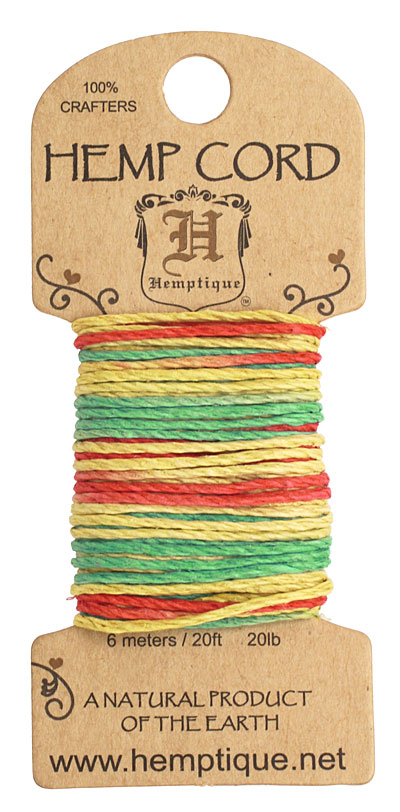 Rasta Hemp Twine 20 lb, 20 ft