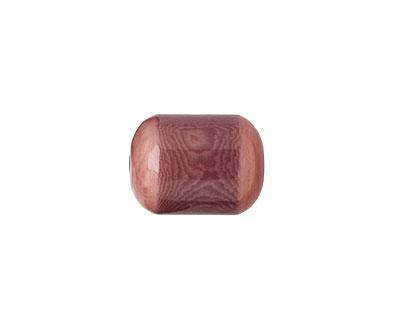 Tagua Nut Violet Bicolor Barrel 23-24x16-17mm