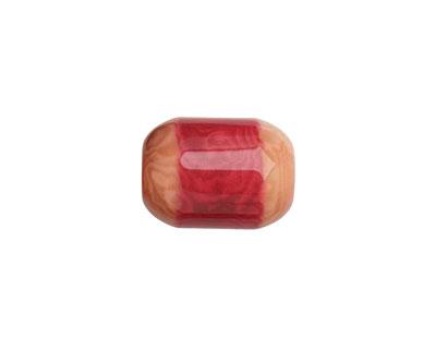 Tagua Nut Hot Pink Bicolor Barrel 23-24x16-17mm