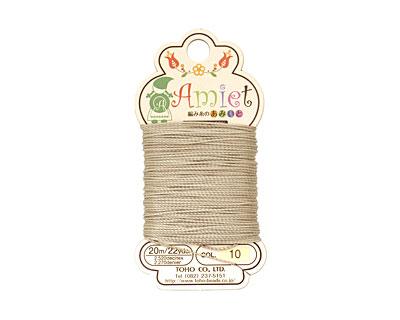 Khaki Amiet Thread 22 yards