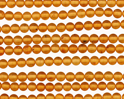 Amber Round 3-3.5mm