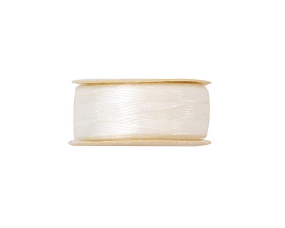 Nymo White Size F (0.35mm) Thread