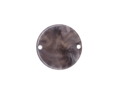 Zola Elements Mink Marbled Acetate Coin Link 20mm