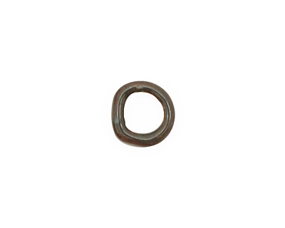 C-Koop Enameled Metal Steel Gray Ring 10-11mm