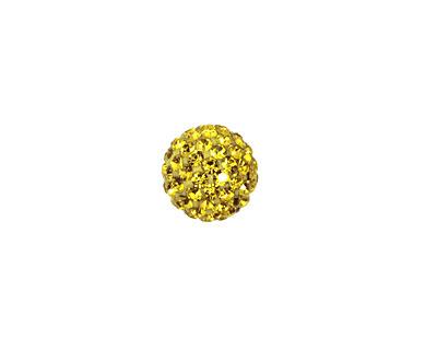 Dandelion Pave Round 10mm (1.5mm hole)