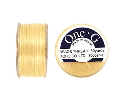 TOHO One-G Light Yellow Thread