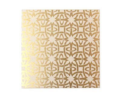 Lillypilly Gold Starburst Anodized Aluminum Sheet 3